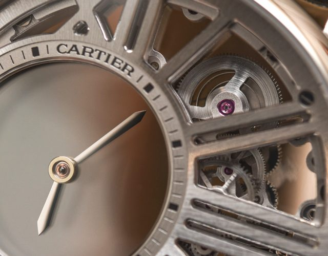 Cartier Rotonde De Cartier Replica Misterioso Ora Scheletro Orologio Da Polso