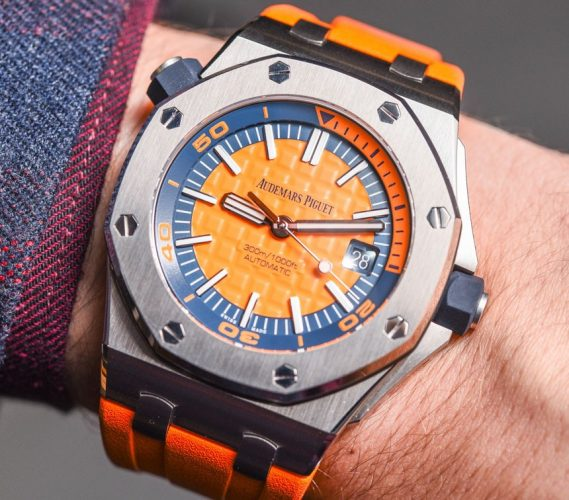 Audemars Piguet Royal Oak Offshore Diver 'Funky Colour Edition' Replica Orologi Italia