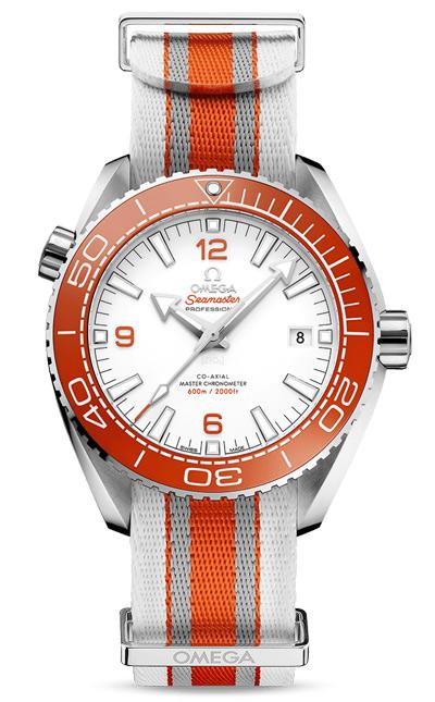 Arancione Omega Seamaster Planet Ocean Replica