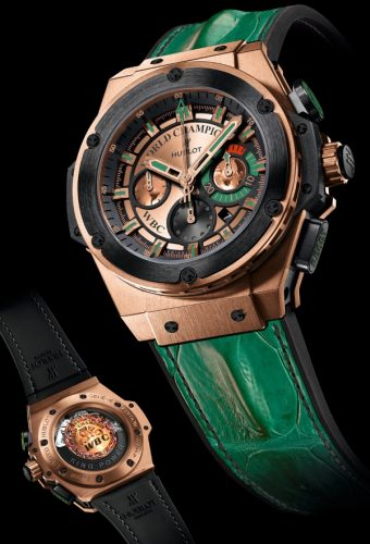 "Battaglia Per Dodici Orologi Replica Hublot King Power ""Knockout"" WBC"