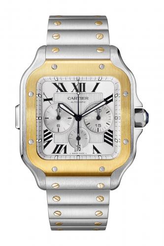 La Replica Di Cartier Arricchisce La Collezione Santos Con Cronografi E Scheletro Luminoso