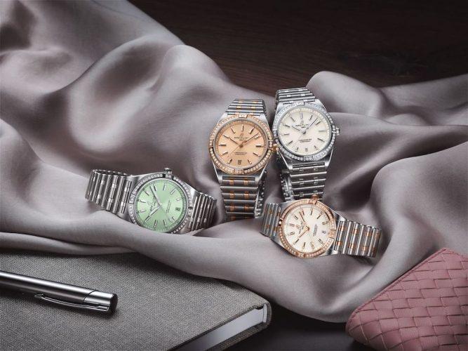 Breitling Presenta La Replica Chronomat Da Donna