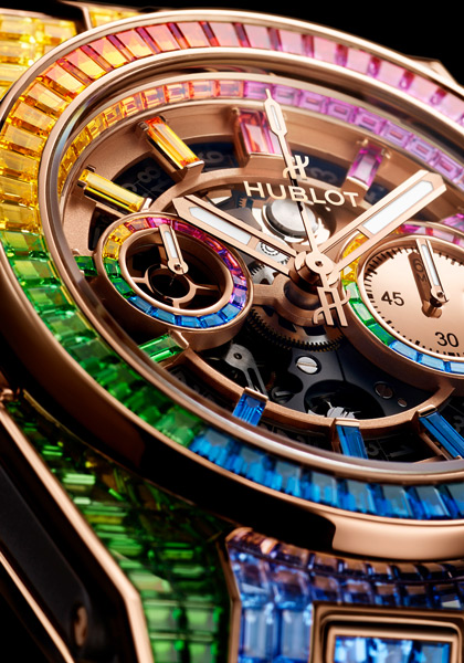 Repliche Orologi Hublot Big Bang Unico Rainbow High Jewellery