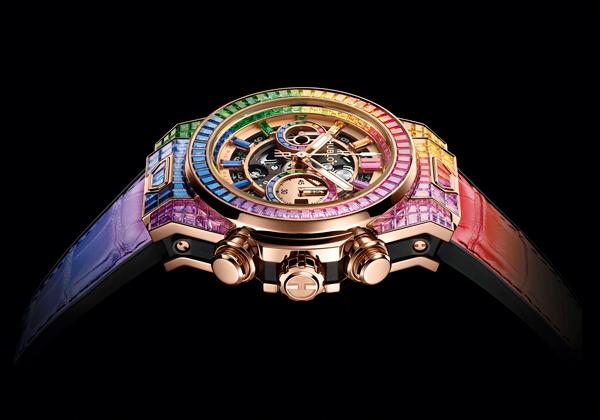 Repliche Orologi Hublot Big Bang Unico High Jewelry Rainbow